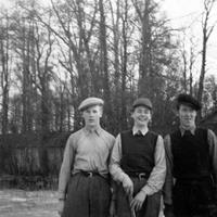 Bild 5 Karl-Erik Södergren Hans Bergsten Elis Carlsson 1940-tal.jpg